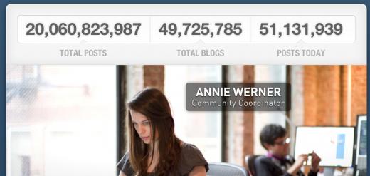 Tumblr comemora quantidade de posts (Foto: Reprodução)