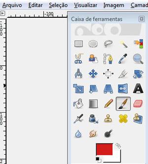 Caixa de ferramentas do GIMP (Foto: Reprodução/TechTudo)