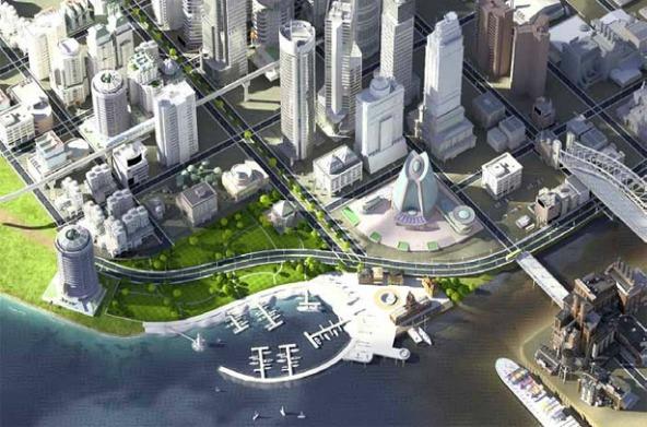 SimCity (Foto: Divulgação)