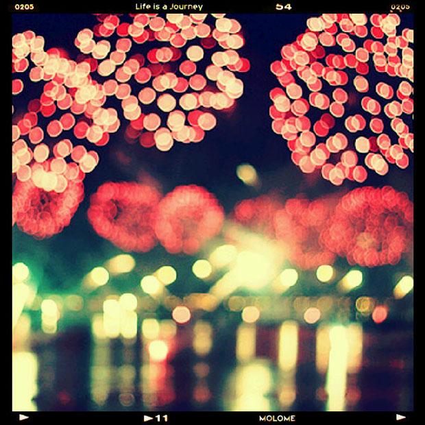 Fotografias compartilhadas pelo aplicativo Molome (Foto: YUiiz/Reprodução)