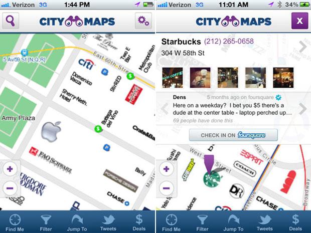 Com integração as redes sociais, aplicativo guia turistas por Nova York (Foto: Divulgação)