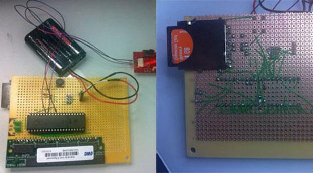 Com poucas peças e criatividade, Dmitry Grinberg criou um computador que dá boot em quatro horas (Foto: Reprodução/Dmitry.co)