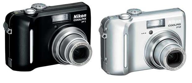 Nikon P1 e P2 (Foto: Reprodução)