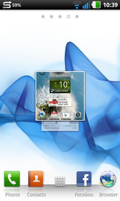 É assim que a tela do seu Android vai ficar (Foto: Reprodução)