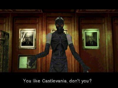 Metal Gear Solid (Psycho Mantis)