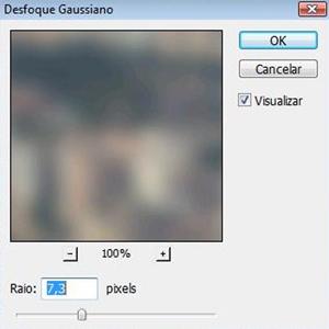 Desfoque Gaussianoe (Foto: Isabela Catão)