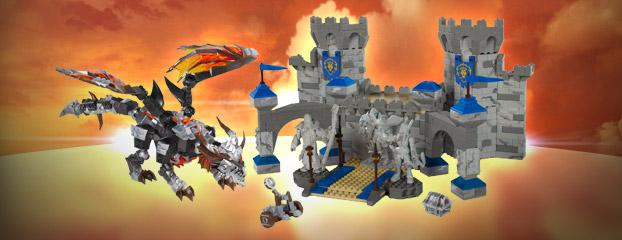 Linha 2012 da Mega Bloks World of Warcraft. (Foto: Divulgação)