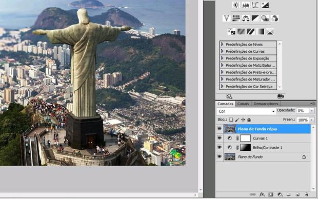 Efeito Tilt Shift no Photoshop (Foto: Isabela Catão)