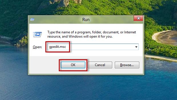 """Digite o código de comando """"gpedit.msc"""" e confirme para abrir a tela """"Local Group Policy Editor"""" (Foto: Reprodução/Júlio Monteiro)"""