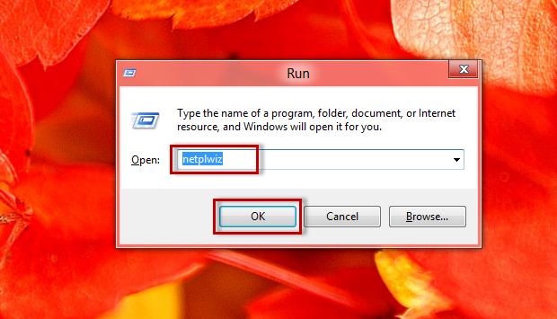 """Digite o código """"netplwiz"""" dentro da tela Run e confirme em """"Ok"""" (Foto: Reprodução/Júlio Monteiro)"""