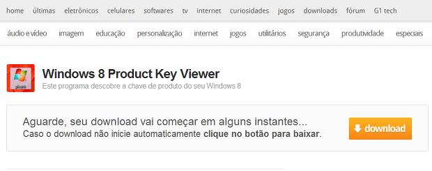 Faça o download do programa na página do TechTudo Downloads (Foto: Reprodução/Júlio Monteiro)