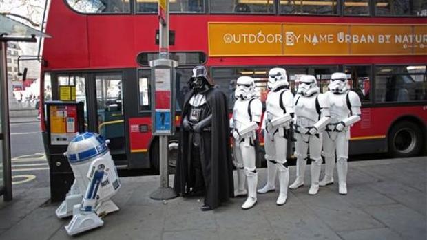 Lançamento de Kinect Star Wars faz o Império invadir Londres (Foto: MSXboxWorld)