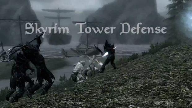 Modificação de The Elder Scrolls V: Skyrim transforma o jogo em um Tower Defense (Foto: Divulgação)