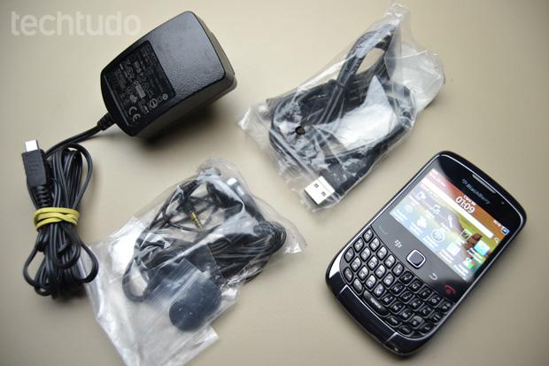 BlackBerry Curve 3G (Foto: Reprodução/Stella Dauer)