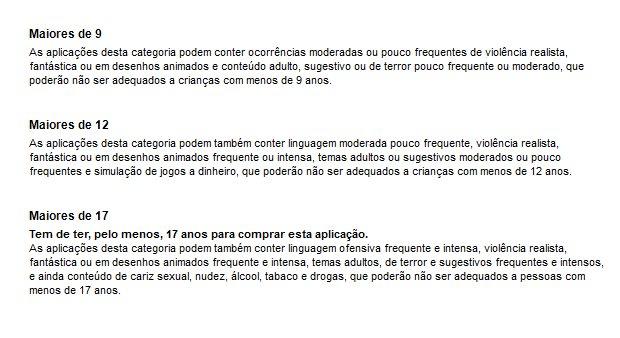 Classificação etária (Foto: Reprodução/Bruno do Amaral)