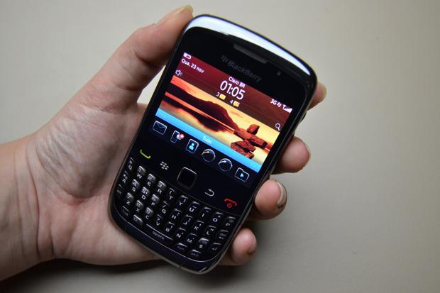 Smartphone BlackBerry Curve 3G (Foto: Smartphone BlackBerry Curve 3G)