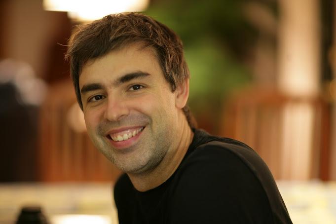 Larry Page, co-fundador do Google em entrevista ao jornal (Foto: Reprodução/Google+)
