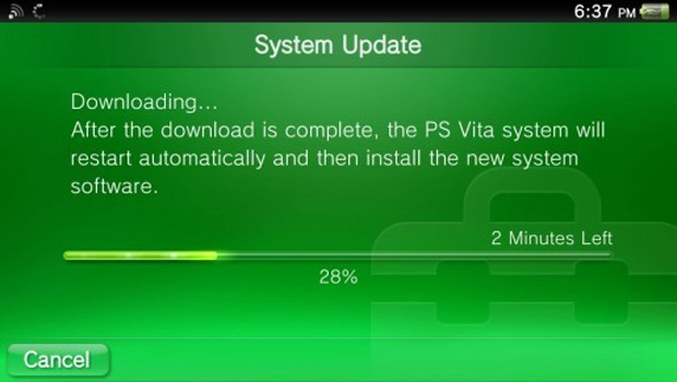 Nova atualização disponível no Vita (Foto: Divulgação)