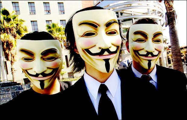 Anonymous liderou votação popular para personalidade do ano de 2011 (Foto: Divulgação)