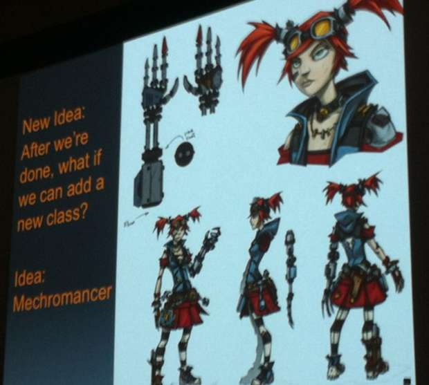 Mechromancer, de Borderlands 2 (Foto: Game Informer)