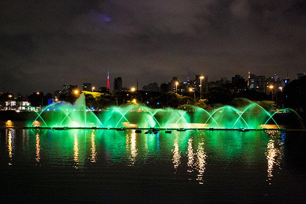 Fotografia noturna com a Nikon D3100, lente 18-55 mm e ISO 3200 (Foto: Andressa Jordano)
