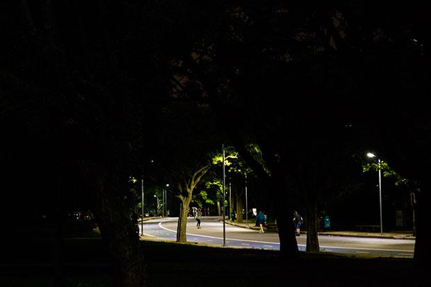 Fotografia noturna com a Nikon D3100, lente 18-55 mm e ISO 1600 (Foto: Andressa Jordano)