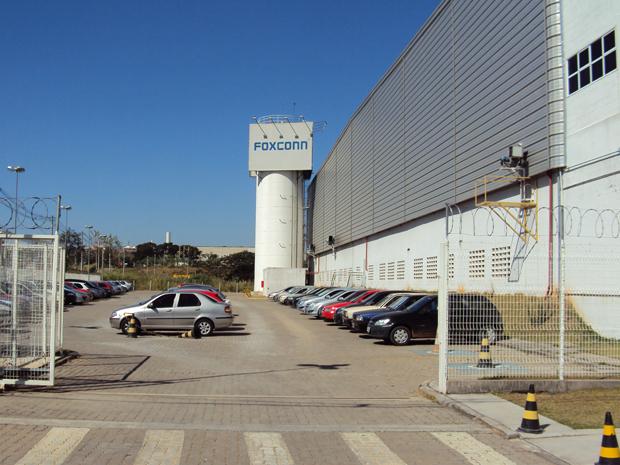 Fabrica da Foxconn em Jundiaí (Foto: Divulgação)