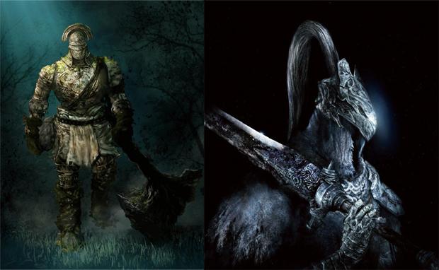 Imagem mostra os novos chefes de Dark Souls no PC (Foto: Divulgação)