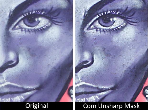 Unsharp Mask (Foto: Reprodução)