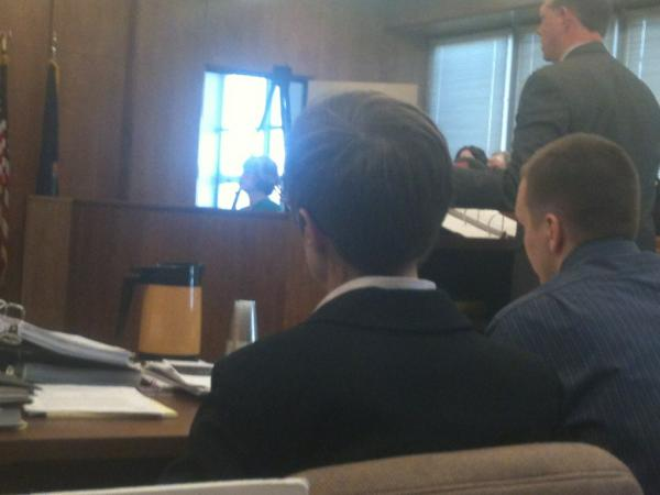 Foto de jurados causou confusão em julgamento nos Estados Unidos (Foto: Reprodução/Daily Mail)