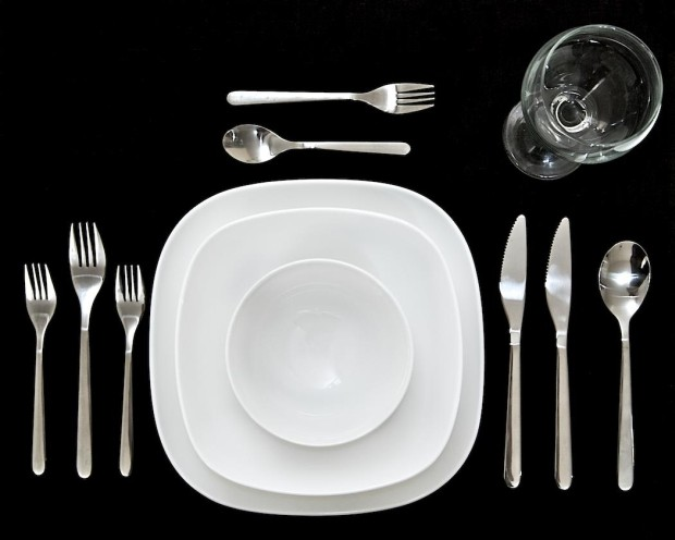O jantar está servido. (Foto: O jantar está servido.)