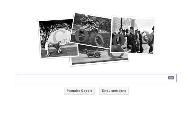Google homenageia Robert Doisneau (Foto: Reprodução)
