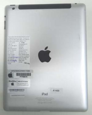 Imagem da documentação de homologação do novo iPad (Foto: Reprodução/Anatel)