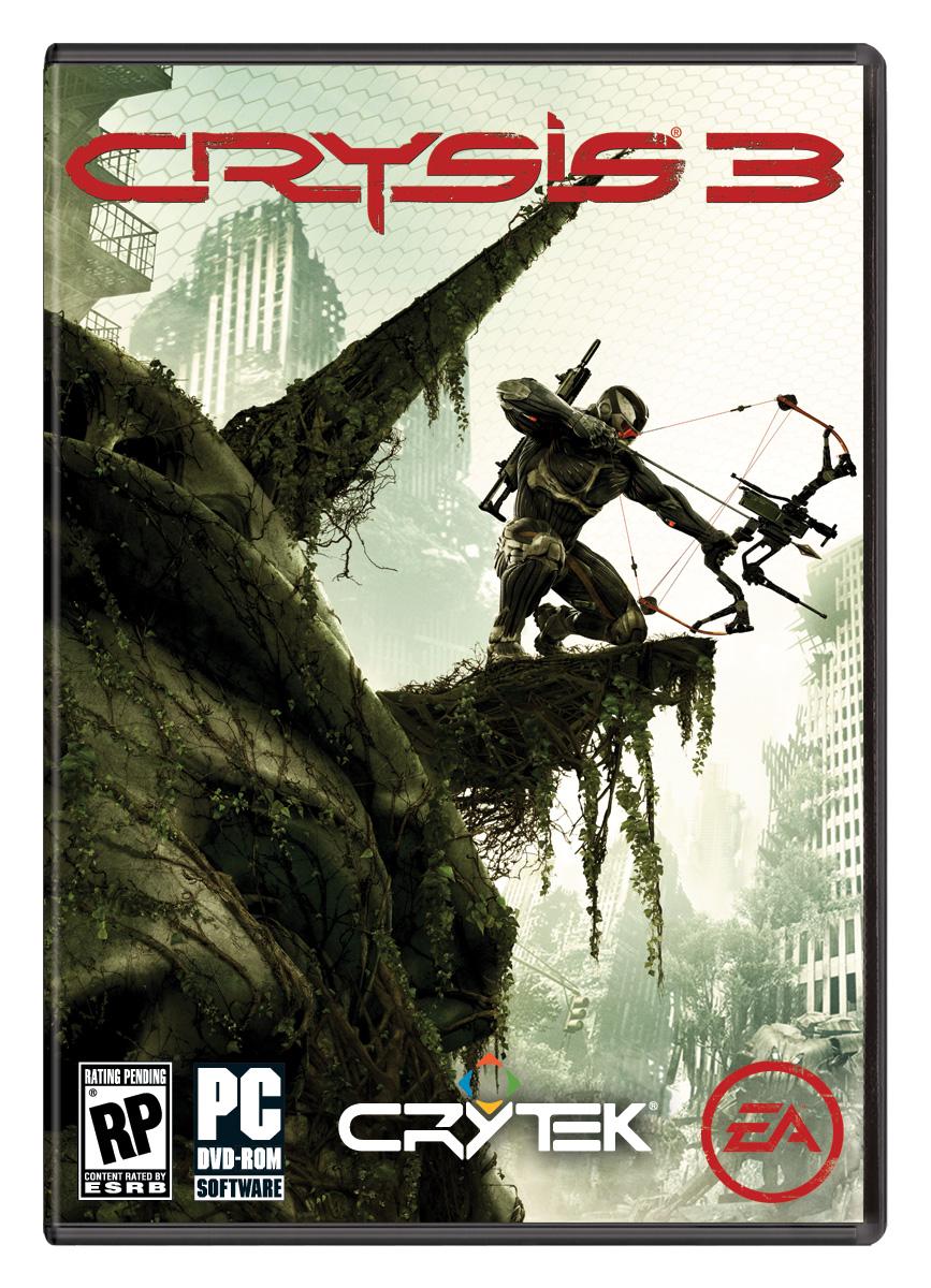 Capa da versão para PCs de Crysis 3 (Foto: Divulgação)
