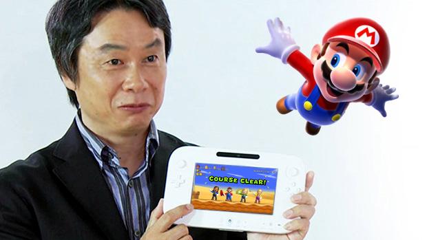 Criador de Mario confirma Super Mario Wii U na E3 2012 (Foto: Reprodução: Rafael Monteiro)