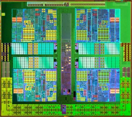 Processador da AMD em detalhes (Foto: Reprodução)