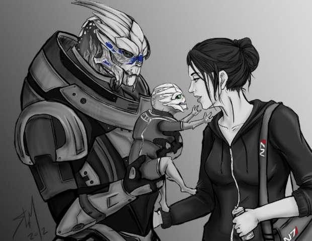 Ilustração de Mass Effect (Foto: Sammi / DeviantArt)
