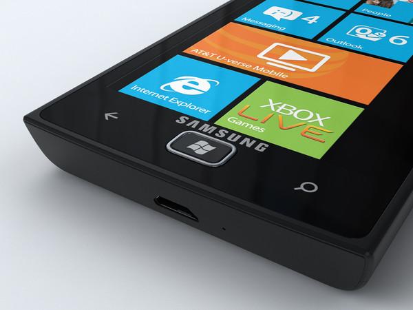 Samsung Omnia W com Windows Phone 7.5 (Foto: Divulgação)