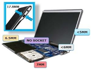 Ultrabooks para a Intel (Foto: Divulgação)