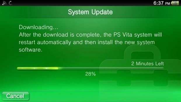Nova atualização do PS Vita no ar (Foto: Divulgação)