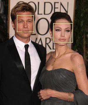 Marcação de rosto em foto (Reprodução / Pluginjquery). (Foto: Marcação de rosto em foto (Reprodução / Pluginjquery).)