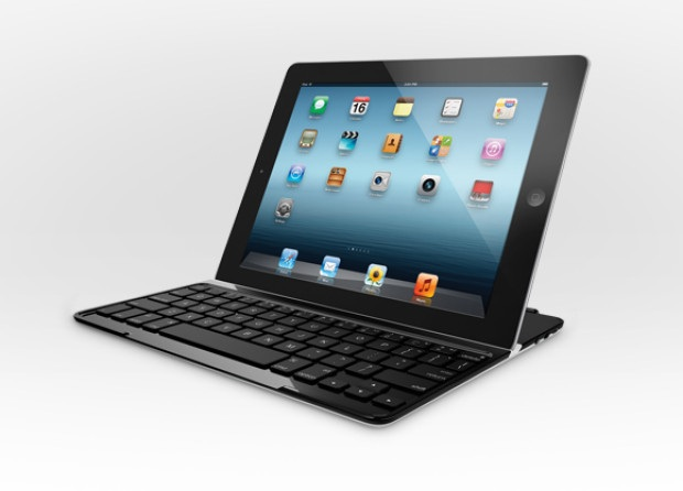 Logitech Ultrathin Keyboard Cover com o iPad acoplado (Foto: Divulga&#231;&#227;o)