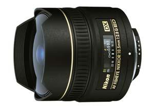 Nikon AF DX Fisheye-Nikkor 10.5mm f/2.8G ED  (Foto: Divulgação)