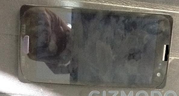 Face frontal do suposto Samsung Galaxy S III (Foto: Reprodução/Gizmodo)