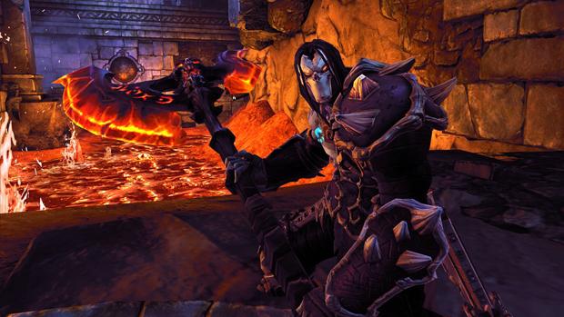 Morte é o personagem central de Darksiders II (Foto: Divulgação)