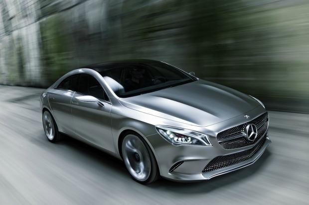 Este é o bonito e arrojado CSC da Mercedes (Foto: Divulgação)