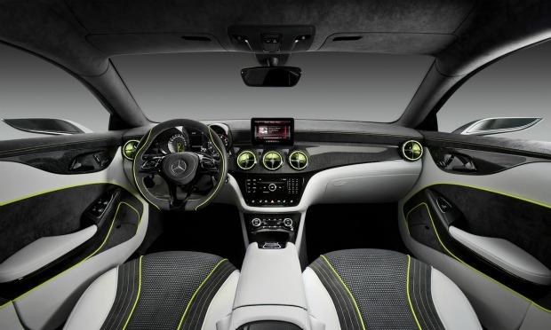 Interior do carro também chama a atenção (Foto: Reprodução)