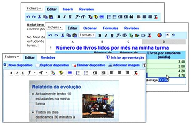 Figura 1: Interface com o usuário dos aplicativos
