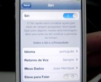 Siri em Português (Foto: Reprodução)