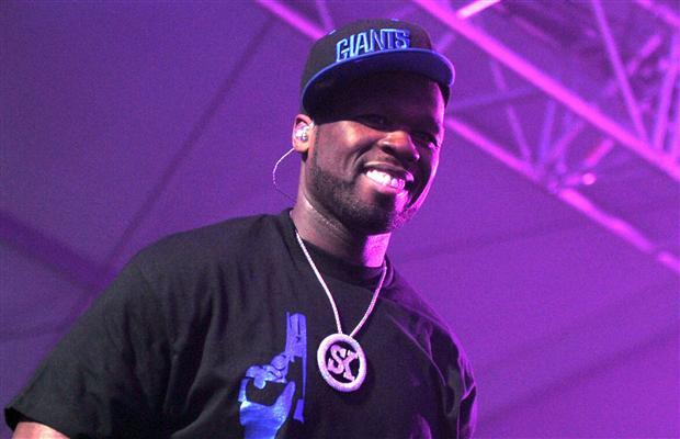 50 Cent está sendo processado por música ilegal compartilhada na web (Foto: Reprodução)